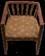 starožitný nábytek_kreslo_art_deco